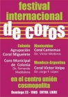 Festival Internacional de coros!