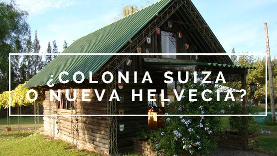 ¿Sabías que Nueva Helvecia es también llamada Colonia Suiza?