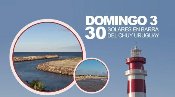 3 de enero: Remate de solares en Barra del Chuy!