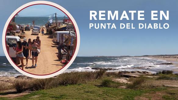 Remate de solares en Punta del Diablo!