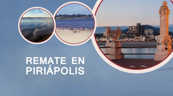 13 de febrero: Remate de solares en Piriápolis!