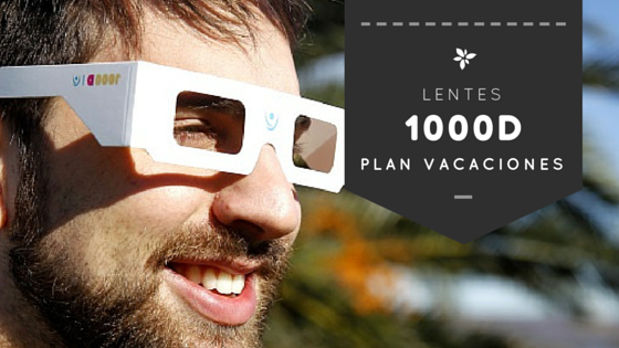 Lentes 1000D para estas vacaciones de julio!