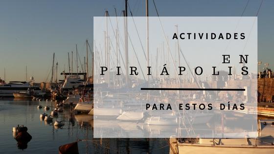 Actividades en Piriápolis para estos días!