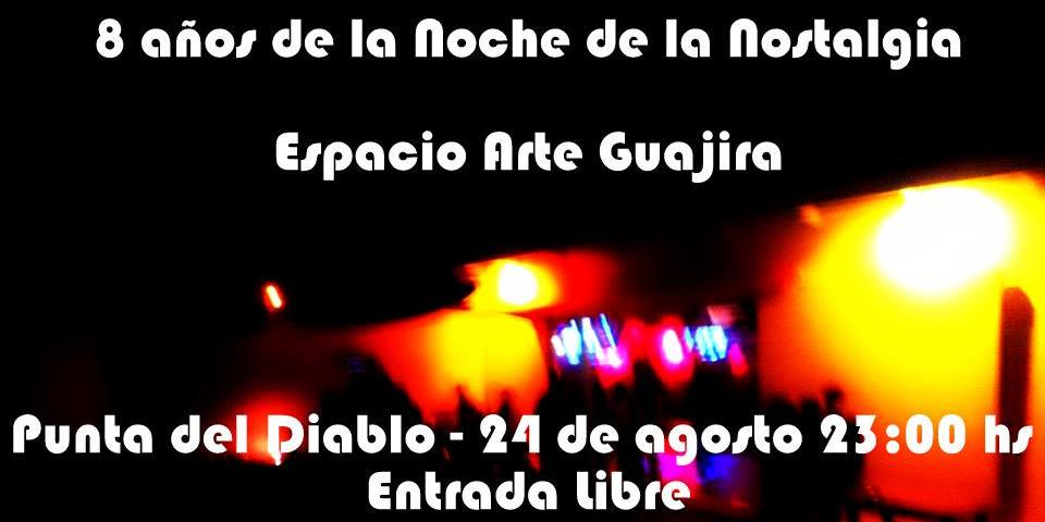 Noche de la Nostalgia en Espacio Guajira!