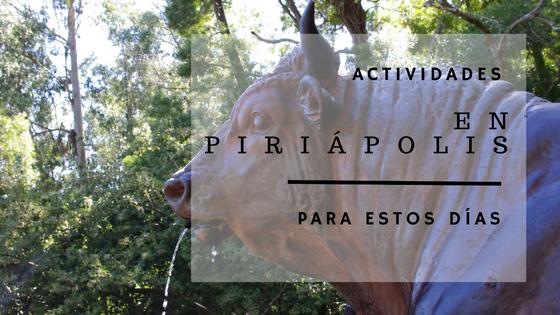 Actividades en Piriápolis para los próximos días!