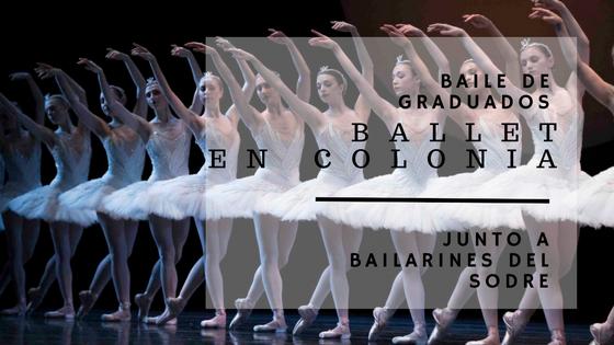 Ballet Juvenil con integrantes del Ballet del Sodre en Colonia