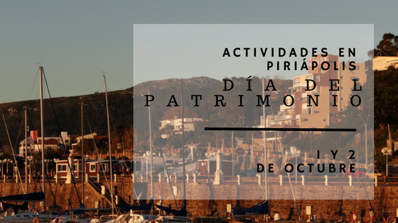 Actividades en Piriápolis por el Día del Patrimonio