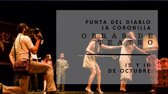 Teatro en Punta del Diablo y La Coronilla!