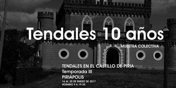 """Muestra """"Tendales 10 años"""" en el Castillo de Piria"""