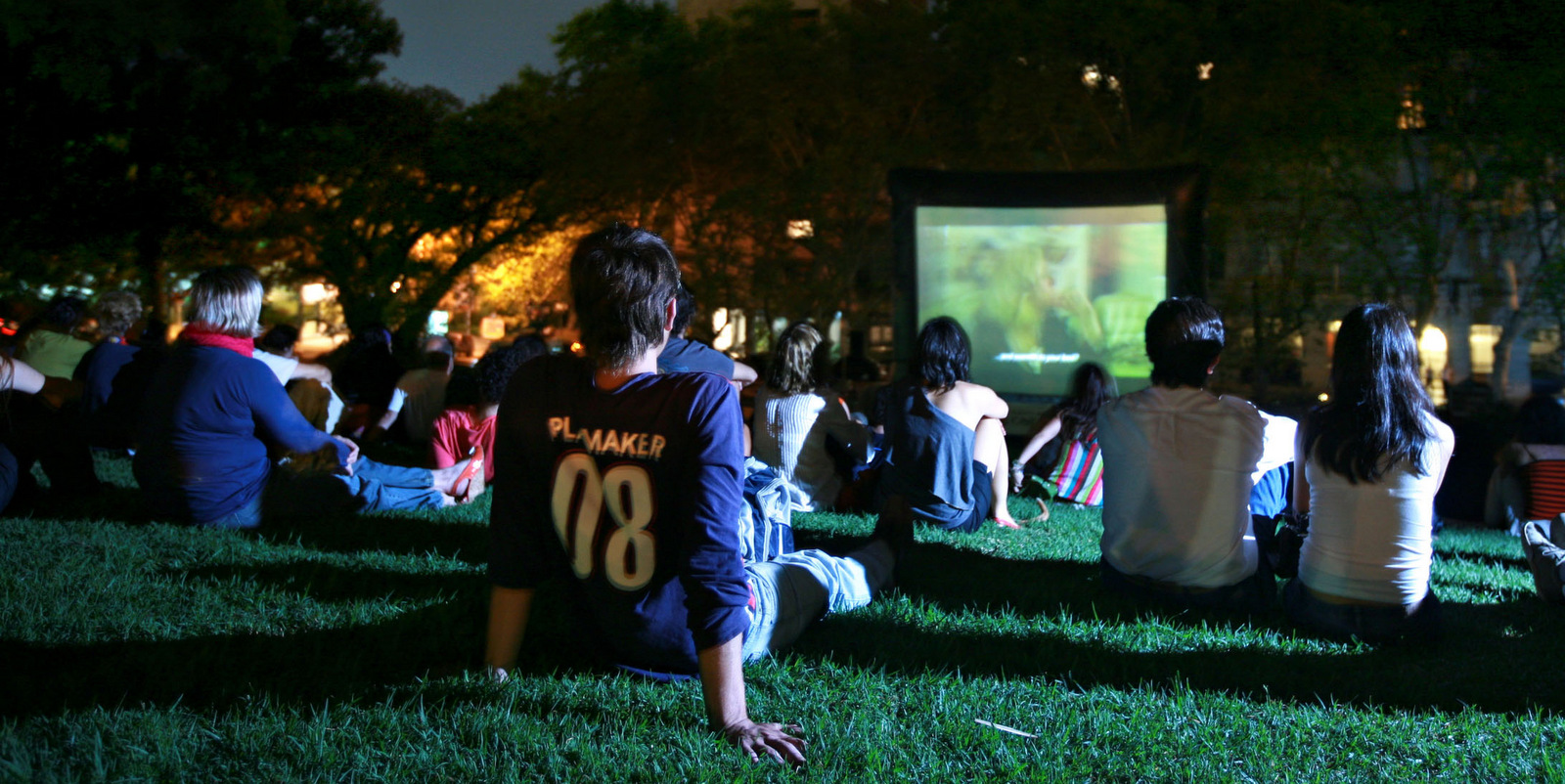 Cine uruguayo al aire libre en Playa Verde!
