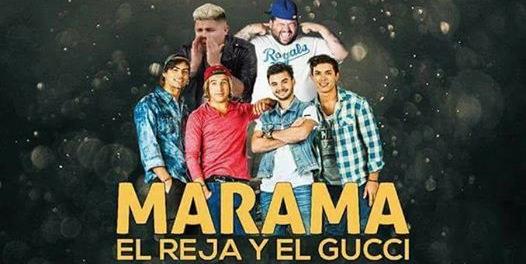 Márama, El Gucci y El Reja en Fiesta del Agite en Piriápolis!