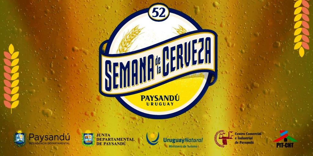 Programación de la Fiesta de la Cerveza de Paysandú!