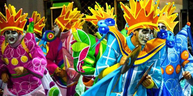 Gran desfile de Carnaval en Punta del Diablo!