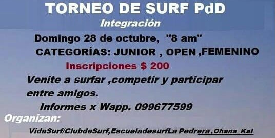 Torneo de surf de primavera!