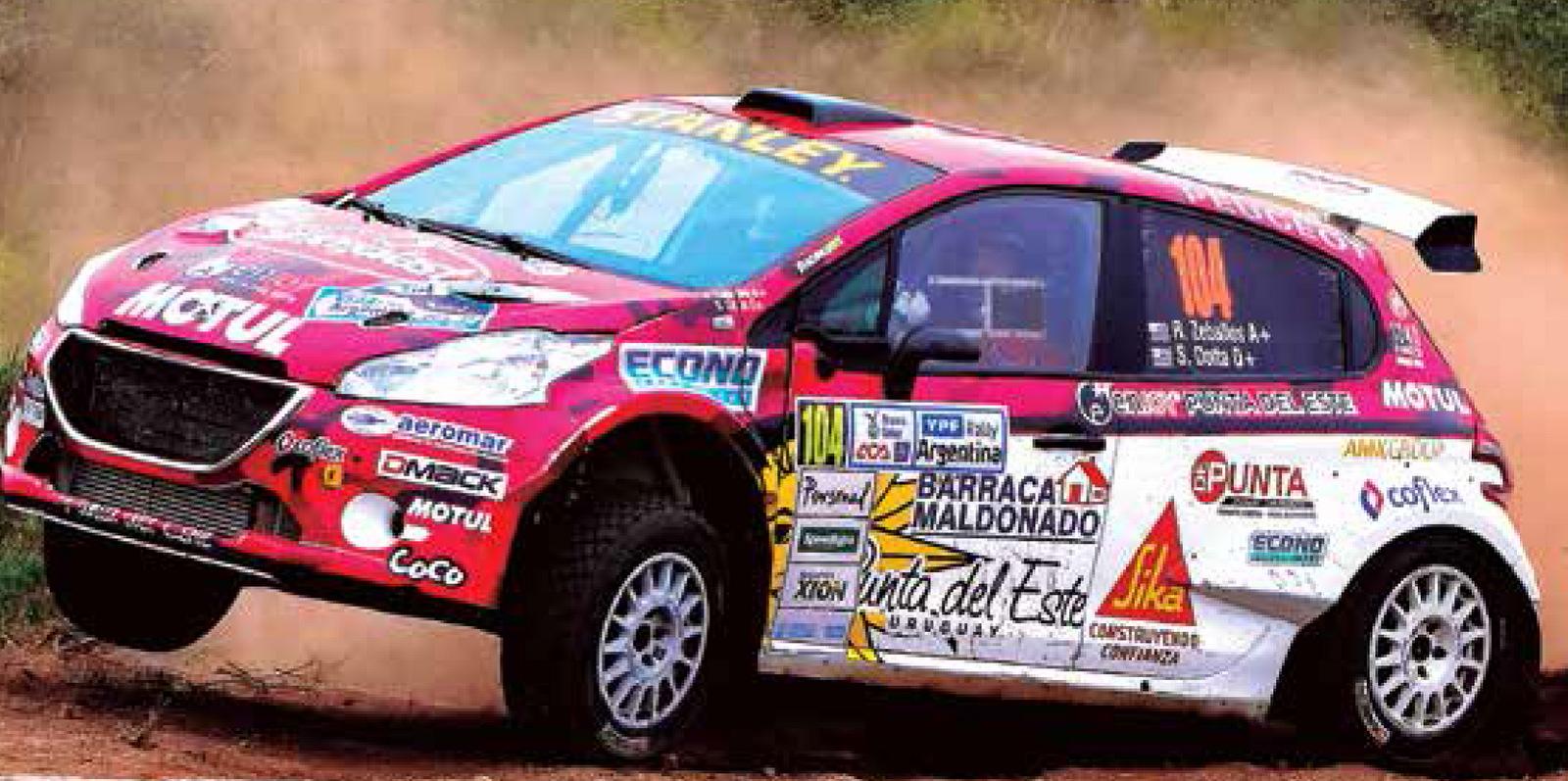 Rally del Atlántico en Minas!