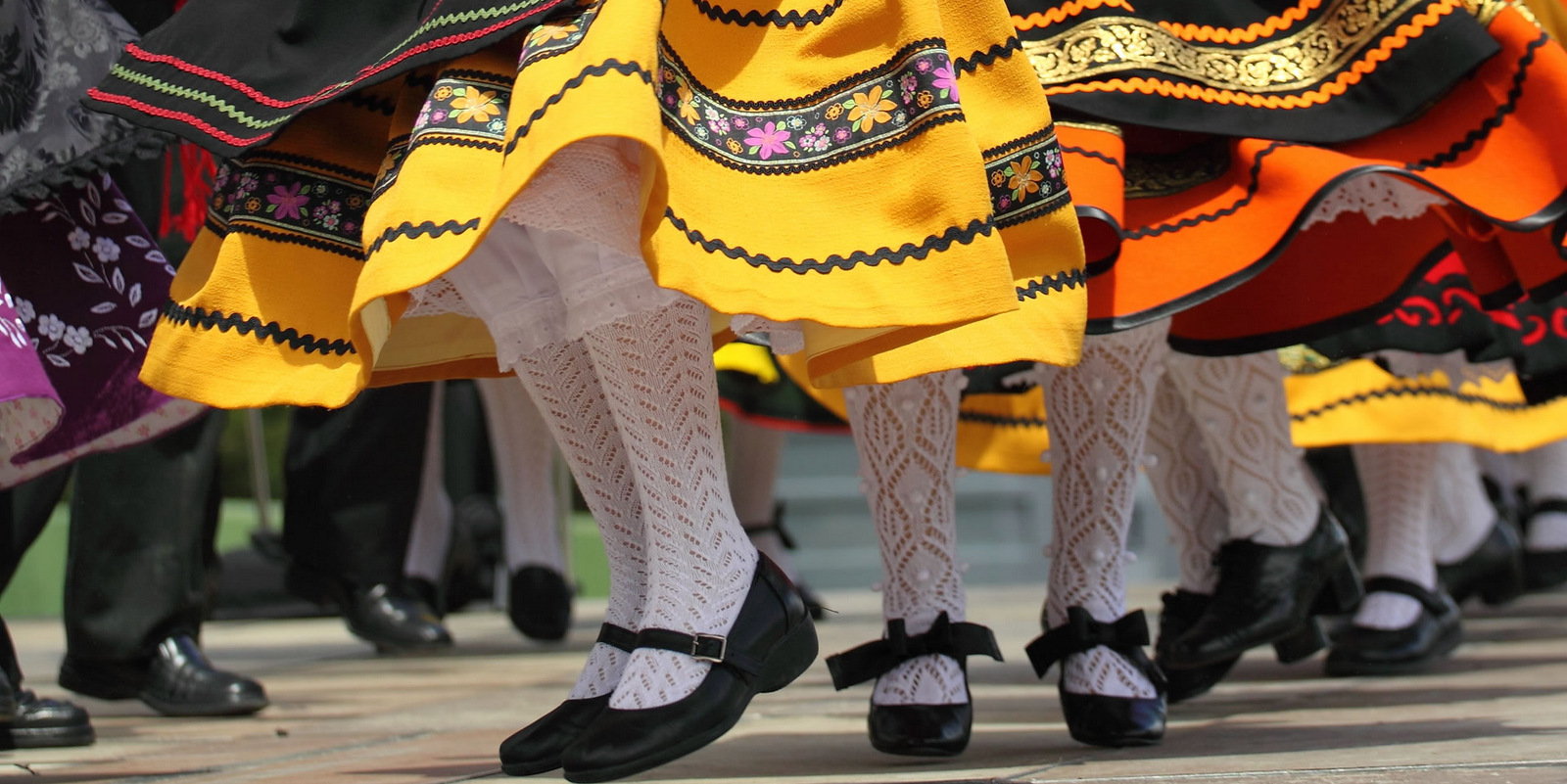 Festival de danzas en Nueva Helvecia!