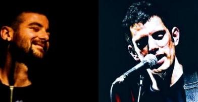 Dos grandes músicos con Valizas de escenario!