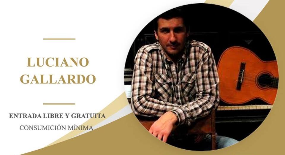El guitarrista Luciano Gallardo en concierto!