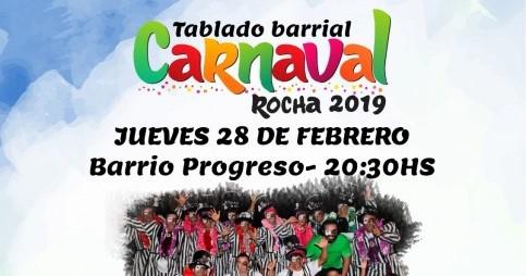 28/2: Carnaval en la ciudad de Rocha!