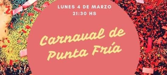 Carnaval en Punta Fría!
