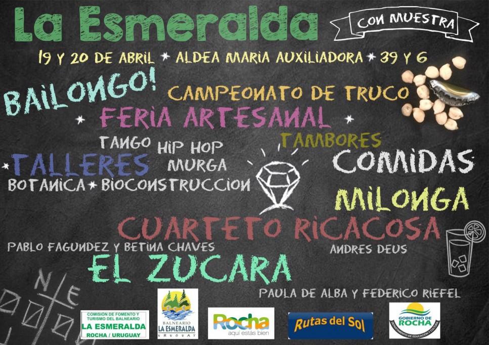 La Esmeralda se muesta en Semana de Turismo!