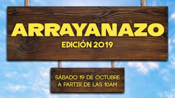 Este sábado 19, otra edición del Arrayanazo