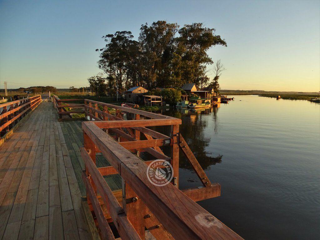 Postales de nuestra costa: el Puente sobre el Arroyo Valizas
