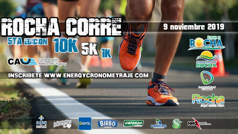 El sábado 9 de noviembre, preparate para la  5ª edición de Rocha Corre