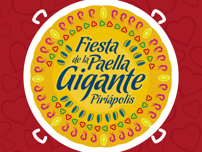 El sábado 14 de diciembre, Paella Gigante en Piriápolis.